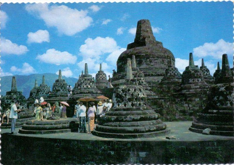 INDONESIA / INDONESIEN, Borobudur Temple