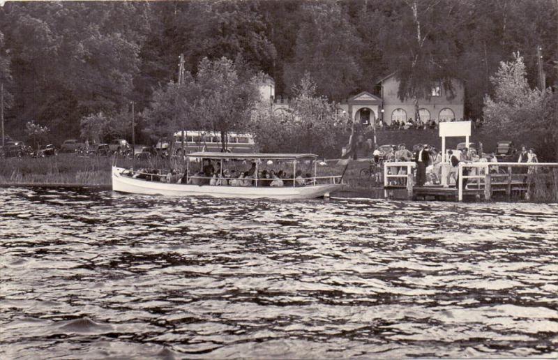 0-1276 BUCKOW, Scharmützelsee, Fischerkehle, 1963