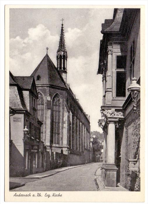 5470 ANDERNACH, Evangelische Kirche