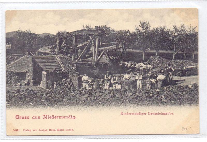 5442 MENDIG - NIEDERMENDIG, Niedermendiger Lavasteingrube