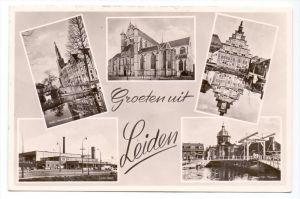 NL - ZUID-HOLLAND, LEIDEN, Groeten uit