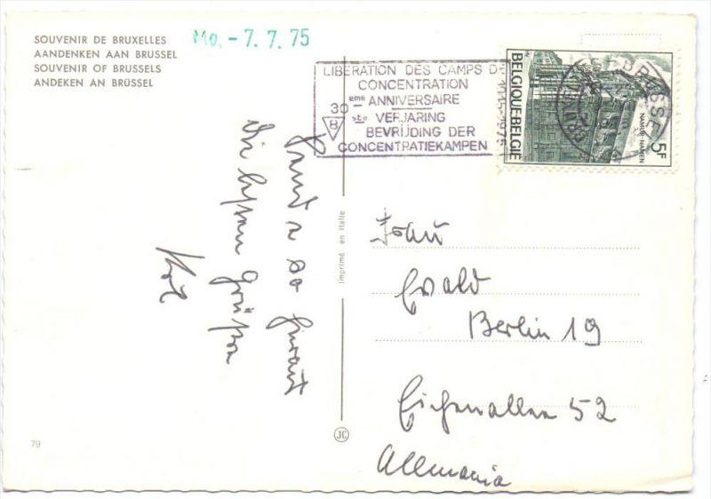 JUDAICA - Sonderstempel 30. Jahrestag der Befreiung der Konzentrationslager