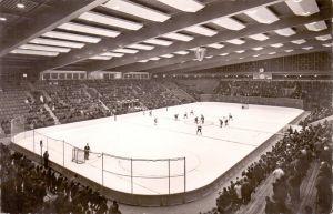 SPORT - EISHOCKEY, Spielszene Olympia Eisstadion Garmisch Partenkirchen
