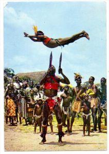 CAMEROUN / KAMERUN, Knife Dance
