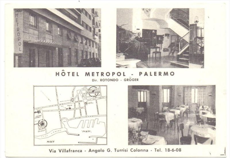I 90121 PALERMO, Hotel Metropol