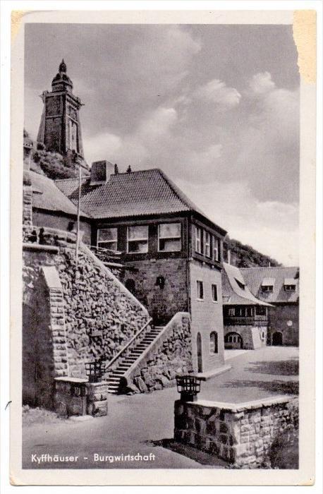 0-4712 KYFFHÄUSER, Burgwirtschaft, 1953