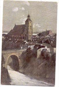 OSTPREUSSEN - WARTENBURG / BARCZEWO, Künstler-Karte Fritz Haß