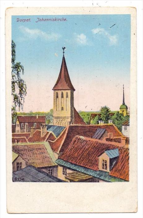EESTI / ESTLAND, DORPAT / TARTU, Johanniskirche