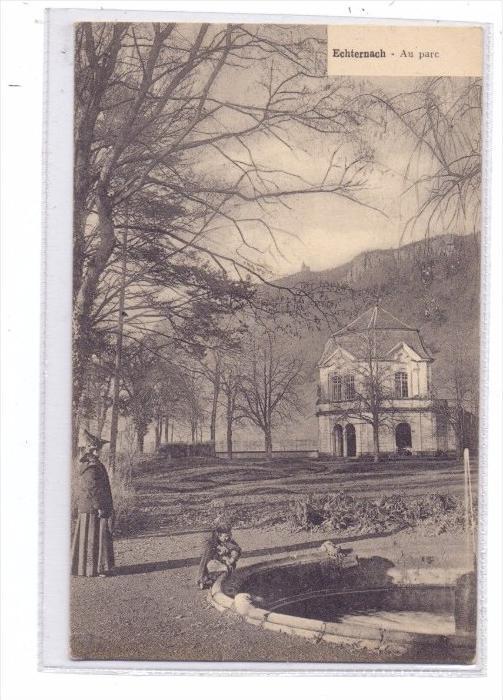L 6400 ECHTERNACH, Im Park, Bellwald