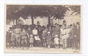 6200 WIESBADEN, Französische Besatzung, Soldaten und Zivilisten, 1924