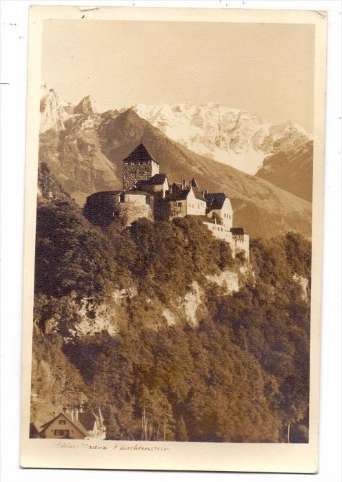 LIECHTENSTEIN - VADUZ, Schloss, 1945
