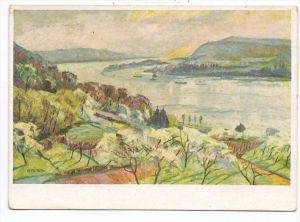 5330 KÖNIGSWINTER, Künstler-Karte Erich von Perfall, Künstler-Hilfswerk 1937