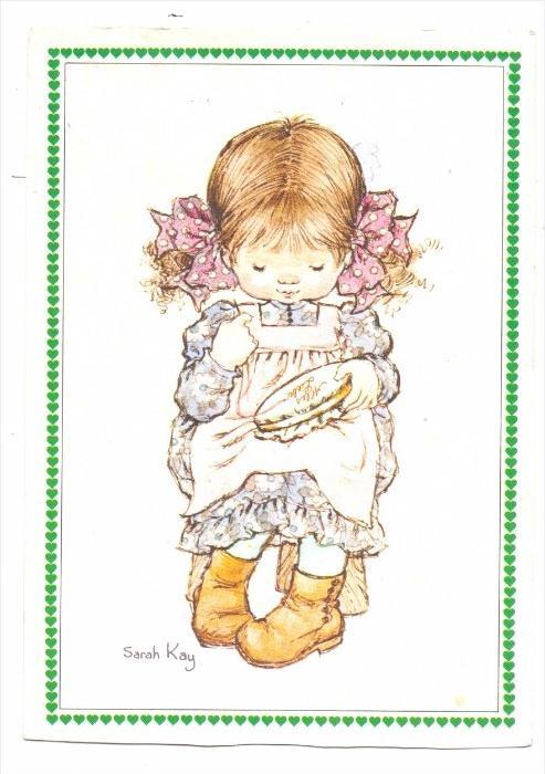 KINDER / Children / Enfants / Bambini / Ninos / Kinderen - 3 Künstler-Karte Sarah Key