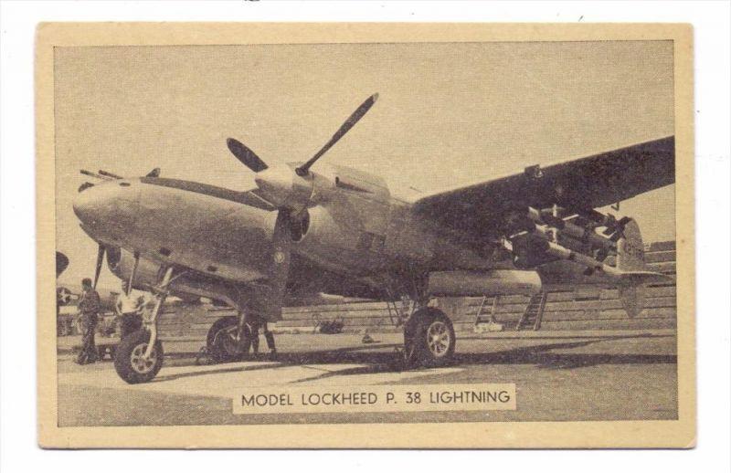 MILITÄR - FLUGZEUG / Airplane / Avion - Lockheed P 38 Lightning