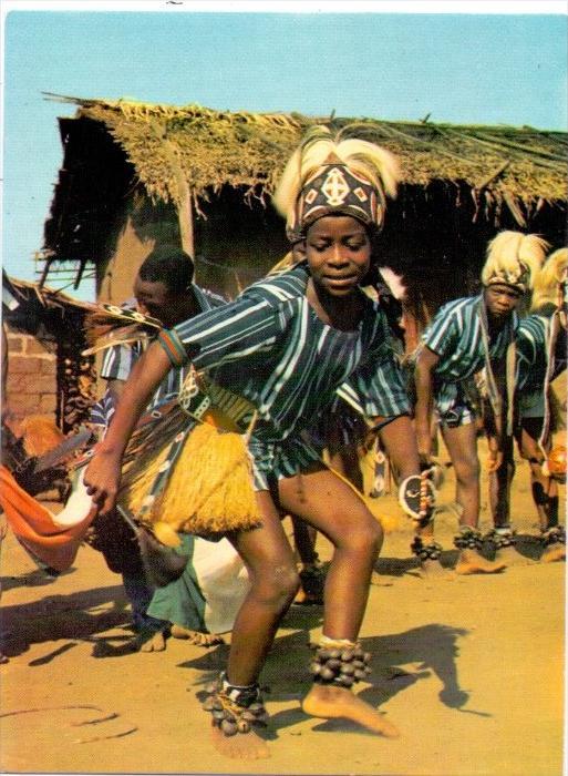VÖLKERKUNDE / ETHNIC - Cote d´Ivore, Region de MAN, Danseuse Yacouba