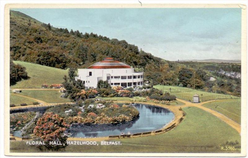 UK - NORTH IRELAND - BELFAST, Hazelwood, Floral Hall, 1958