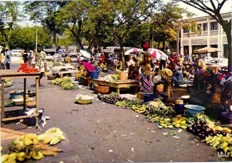 VÖLKERKUNDE / ETHNIC - Cote d´Ivore, Abidjan, Le Marche