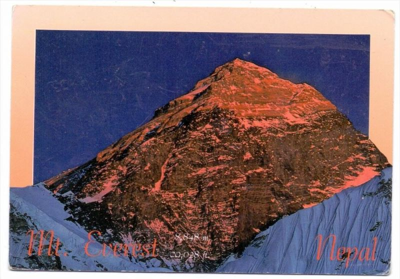NEPAL - Mount Everest 1994