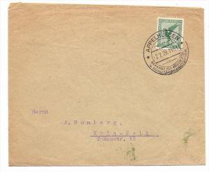DEUTSCHES REICH, Michel 378, Brief Einzelfrankatur, von Appelhülsen nach Köln-Kalk