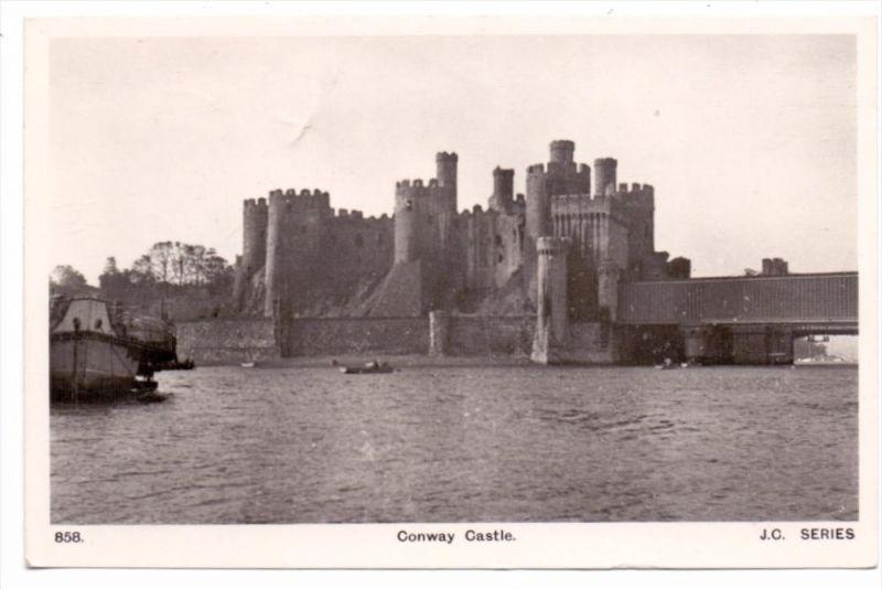 UK - WALES - CAERNARVONSHIRE - CONWAY, Castle, 1949