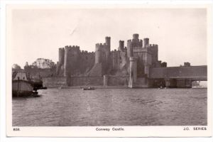 UK - WALES - CAERNARVONSHIRE - CONWAY, Castle, 1949