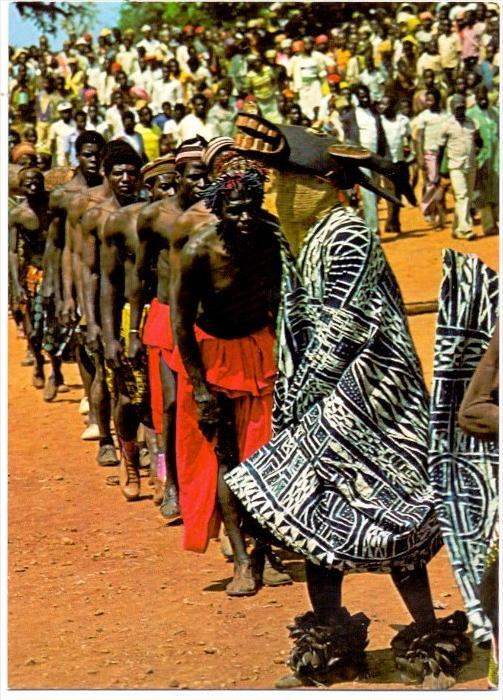 VÖLKERKUNDE / ETHNIC - Kamerun, Totenfeier