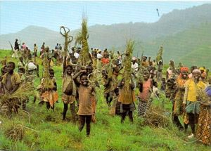 VÖLKERKUNDE / ETHNIC - Kamerun, Grasschneidefest