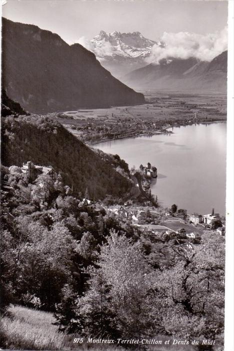 CH 1820 MONTREUX, Territet-Chillon