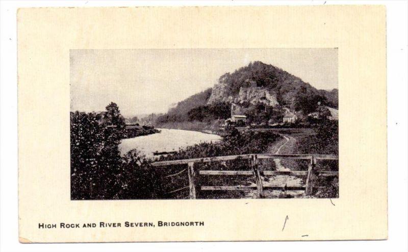 UK - ENGLAND - SHROPSHIRE - BRIDGNORTH, High Rock& River Severn, pub. Foxall