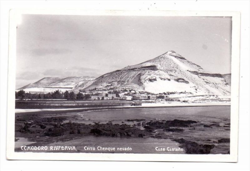 ARGENTINA / ARGENTINIEN - COMODORO RIVADAVIA, Cerro Chenque nevado, keine AK-Rückseite