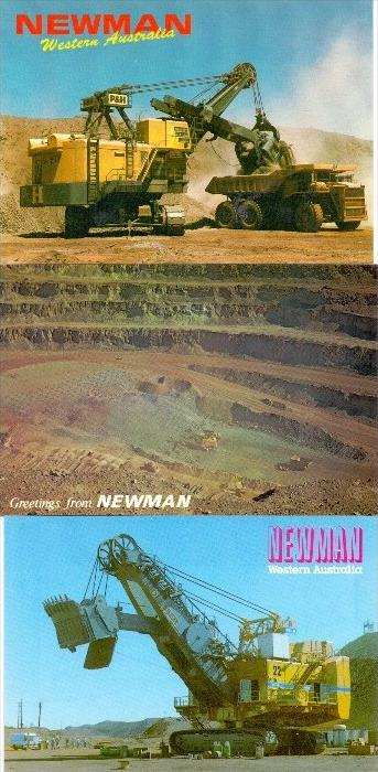 BERGBAU - MINING, Newman Australia, Bagger, 3 AK