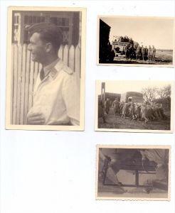 MILITÄR - WEHRMACHT, 1 Photo-AK, 3 Photos