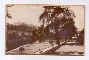 UK - SCOTLAND - EDINBURGH, Castle from East Princess Street Gardens, Valentines, Hearty good wishes