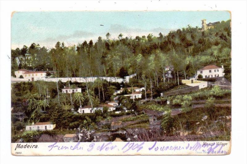 P 9000 MADEIRA, Mountain Village, 1904