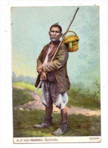 P 9000 FUNCHAL, Costumes / Trachten, 1908