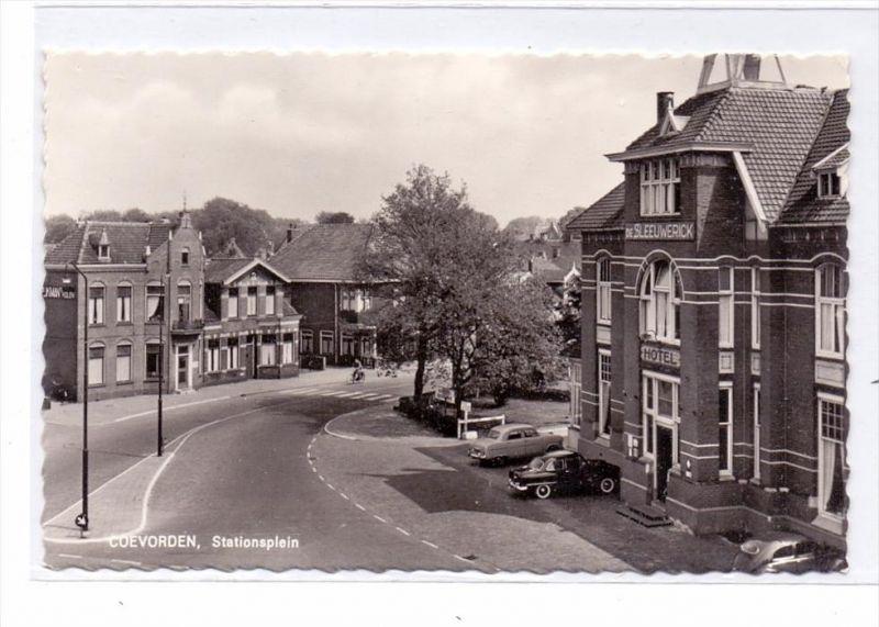 NL - DRENTHE - COEVORDEN, Stationsplein, Hotel de Sleeuwerick