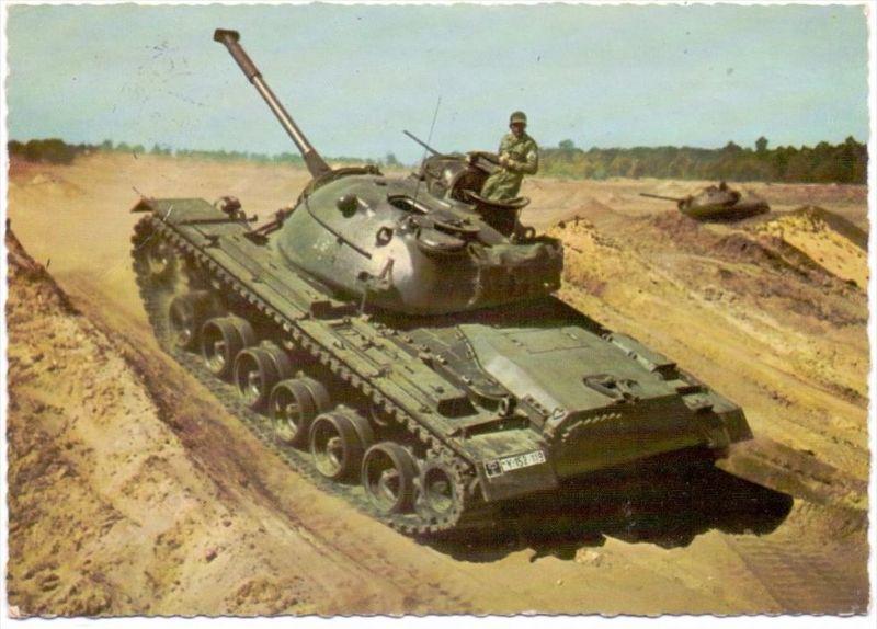 MILITÄR - PANZER / Tank / Chars, BUNDESWEHR M 48 A, 1960