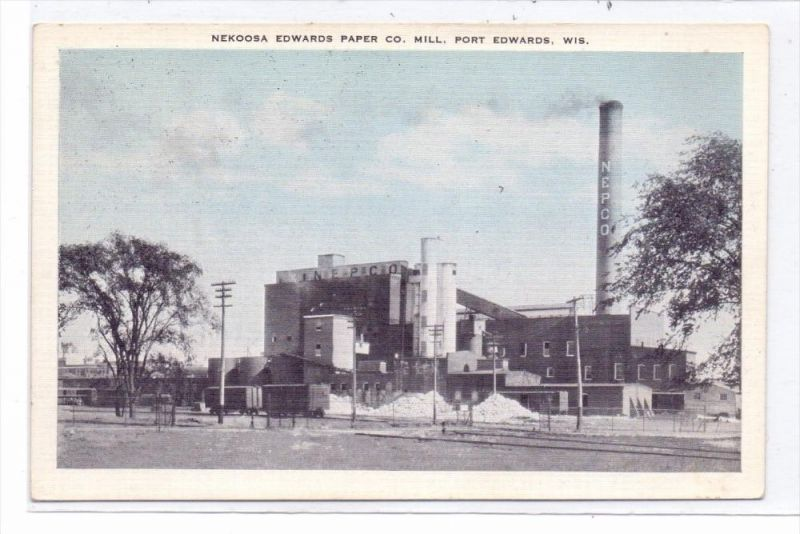USA - WISCONSIN - PORT EDWARDS, Nekoosa Edwards Paper Co. Mill