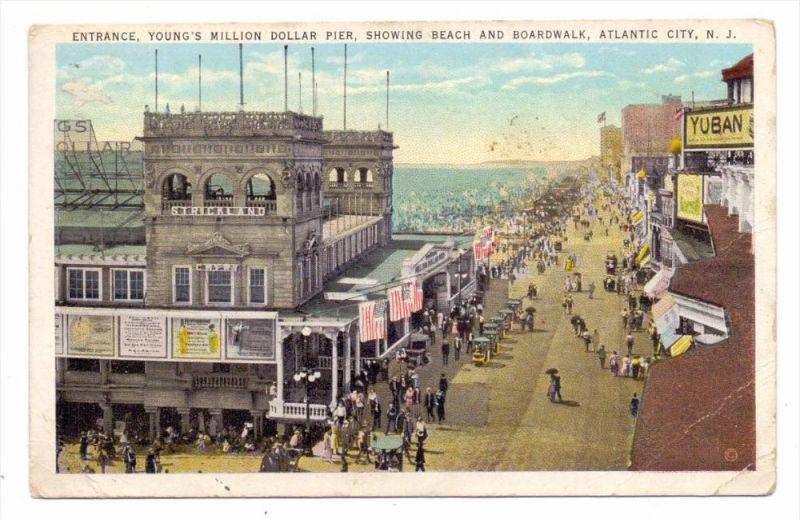 USA - NEW JERSEY - ATLANTIC CITY, Young's Million Dollar Pier, kl. Druckstelle