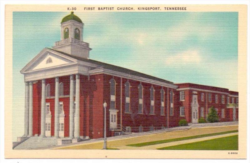 USA - TENNESSEE - KINGSPORT, First Baptist Church