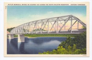 BRÜCKEN / Bridge / Pont - Butler Memorial Bridge, Tennessee