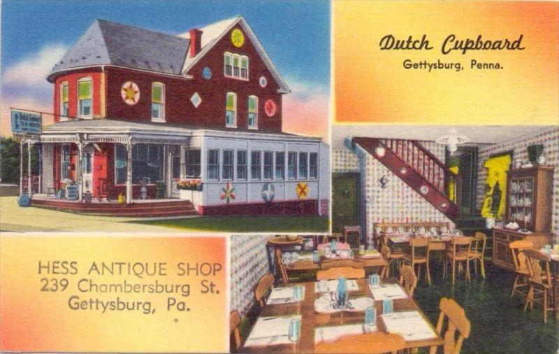 USA - PENNSYLVANIA - GETTYSBURG, Dutch Cupboard, Tea House