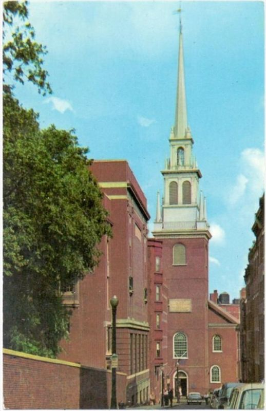 USA - MASSACHUSETTS - BOSTON, Old North Church