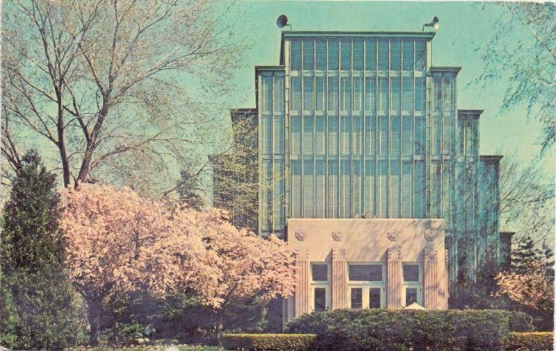 USA - MISSOURI - ST. LOUIS, Jewel Box and Cherry Blossoms, 1965