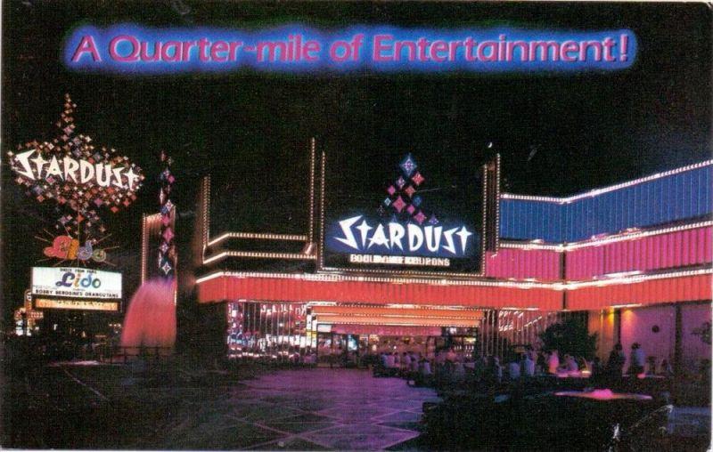 USA - NEVADA - LAS VEGAS, STARDUST, Home of