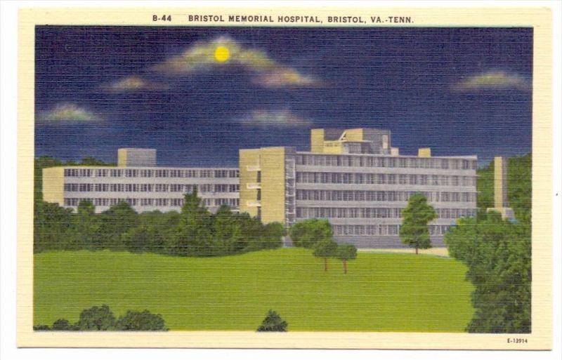 USA - TENNESSEE - BRISTOL, Bristol Memorial Hospital