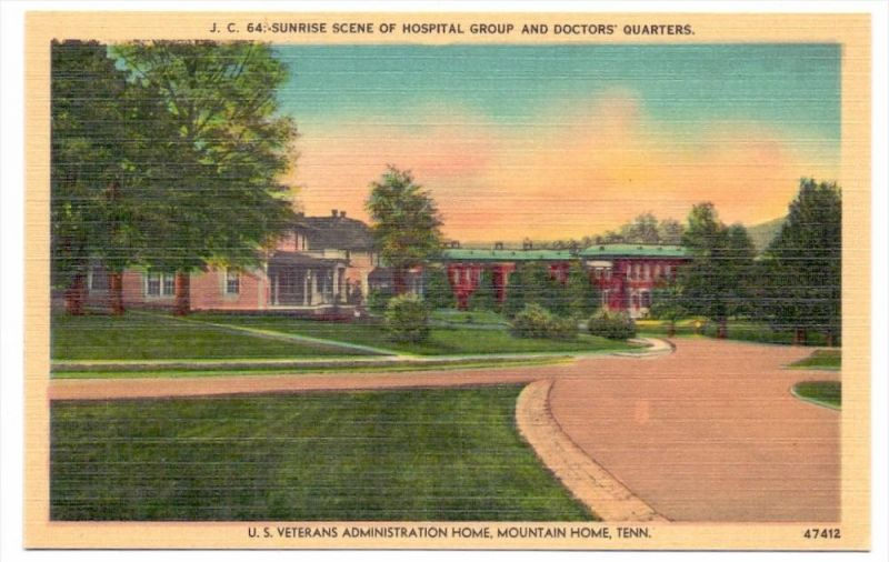 USA - TENNESSEE - JOHNSON CITY, U.S. Veterans Administration Home, Mountain Home
