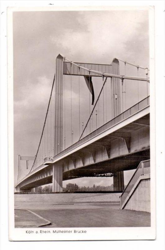 5000 KÖLN - MÜLHEIM, Mülheimer Brücke