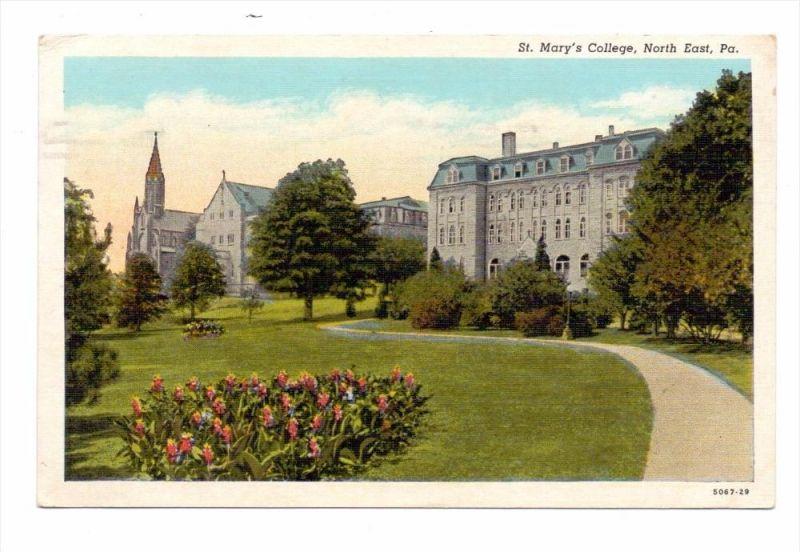 USA - PENNSYLVANIA - North East pennsylvania, St. Mary's College, 1948