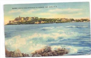 PUERTO RICO - SAN JUAN, Morro Castle, 1948